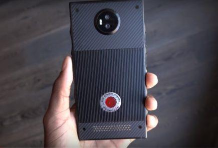 Mira el prototipo Hydrogen One el primer smatphone
