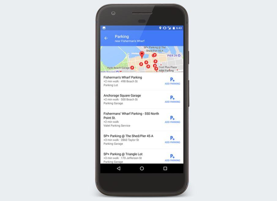 Google Maps ahora te ayuda a aparcar en Madrid, Barcelona y otras ciudades 1