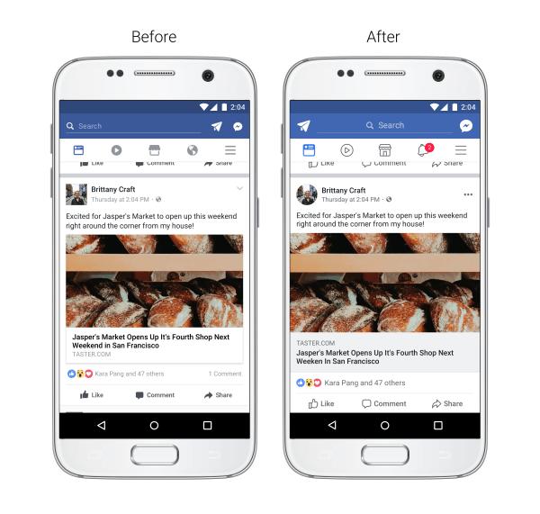 Facebook renueva su aspecto con cambios en su interfaz