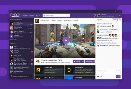Twitch lanza su aplicación oficial para Windows y Mac