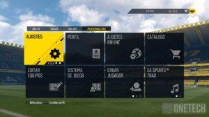 Menú Principal FIFA 17