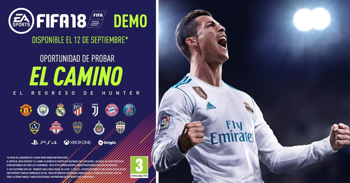 Ya puedes probar la demo de EA SPORTS FIFA 18
