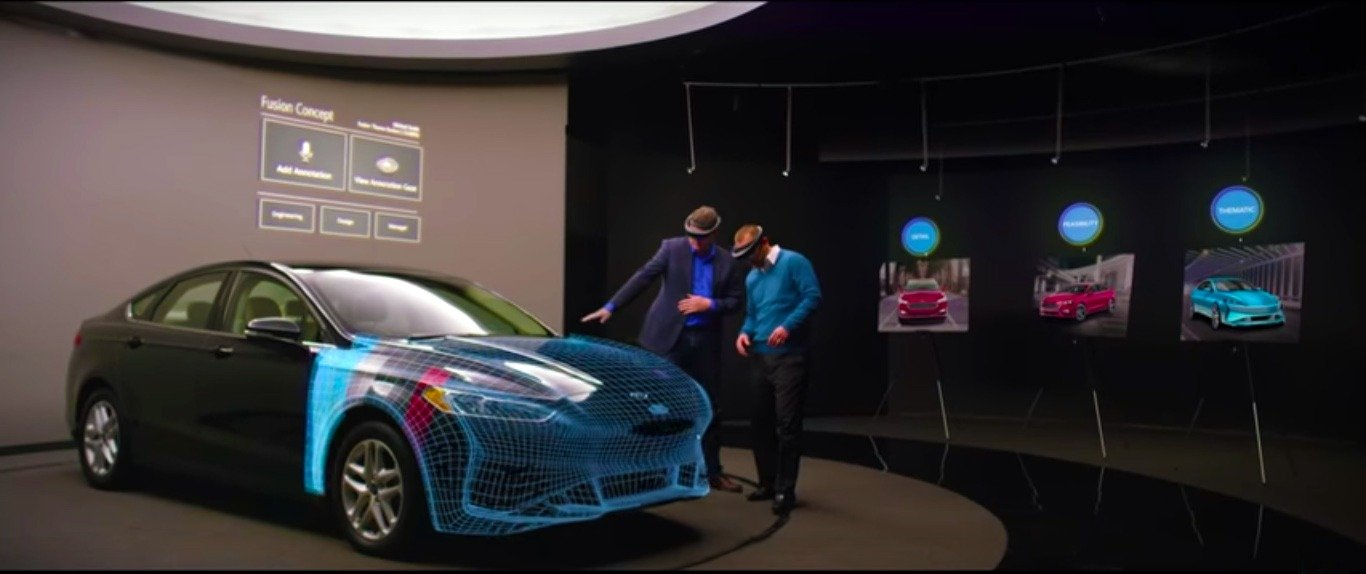 Ford & HoloLens