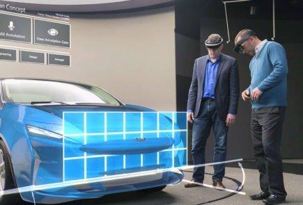 Ford se asocia con Hololens