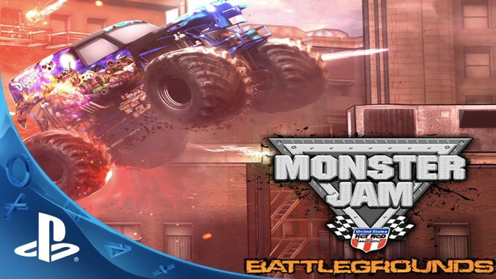 Monster Jam Battlegrounds PS3