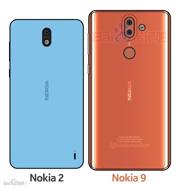 Nokia 2 y Nokia 9