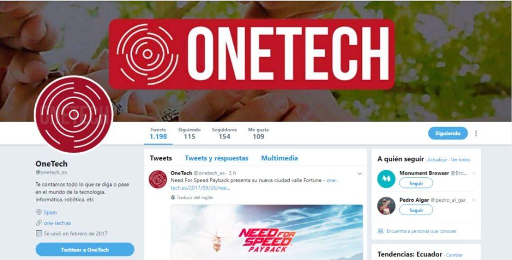 Twitter OneTech