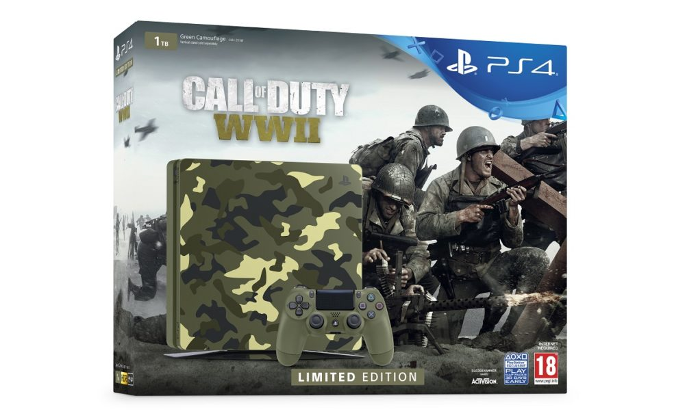 PlayStation 4 edición limitada de Call of Duty: WWII