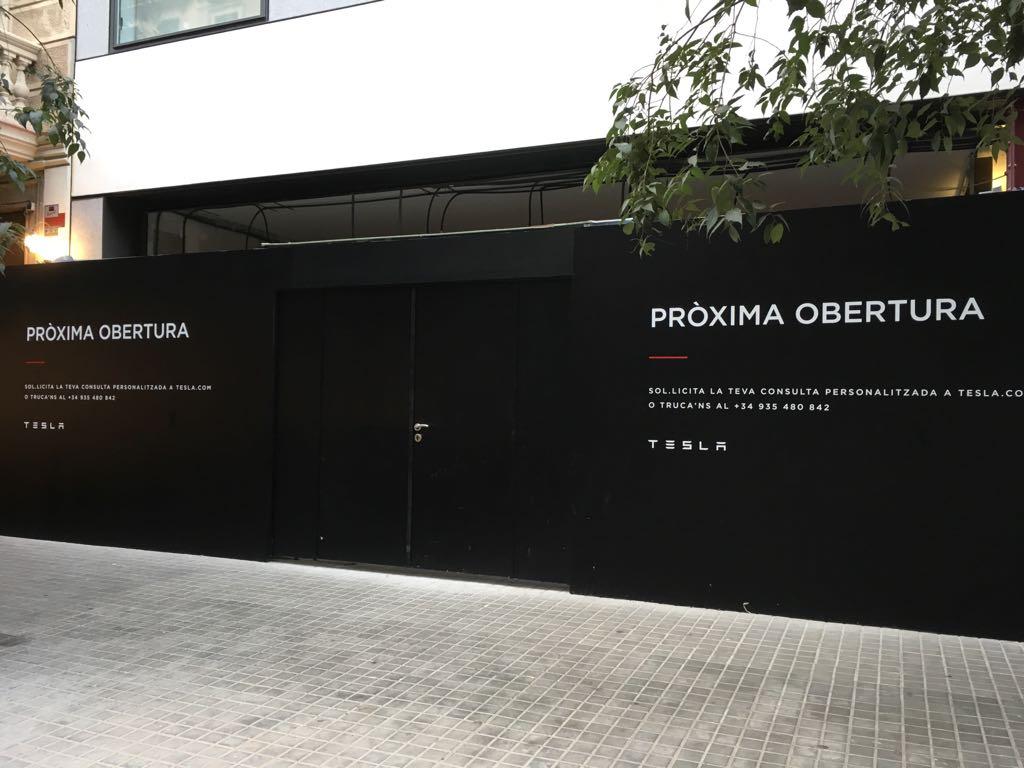 Tesla abrirá su primera tienda en España el próximo octubre 1
