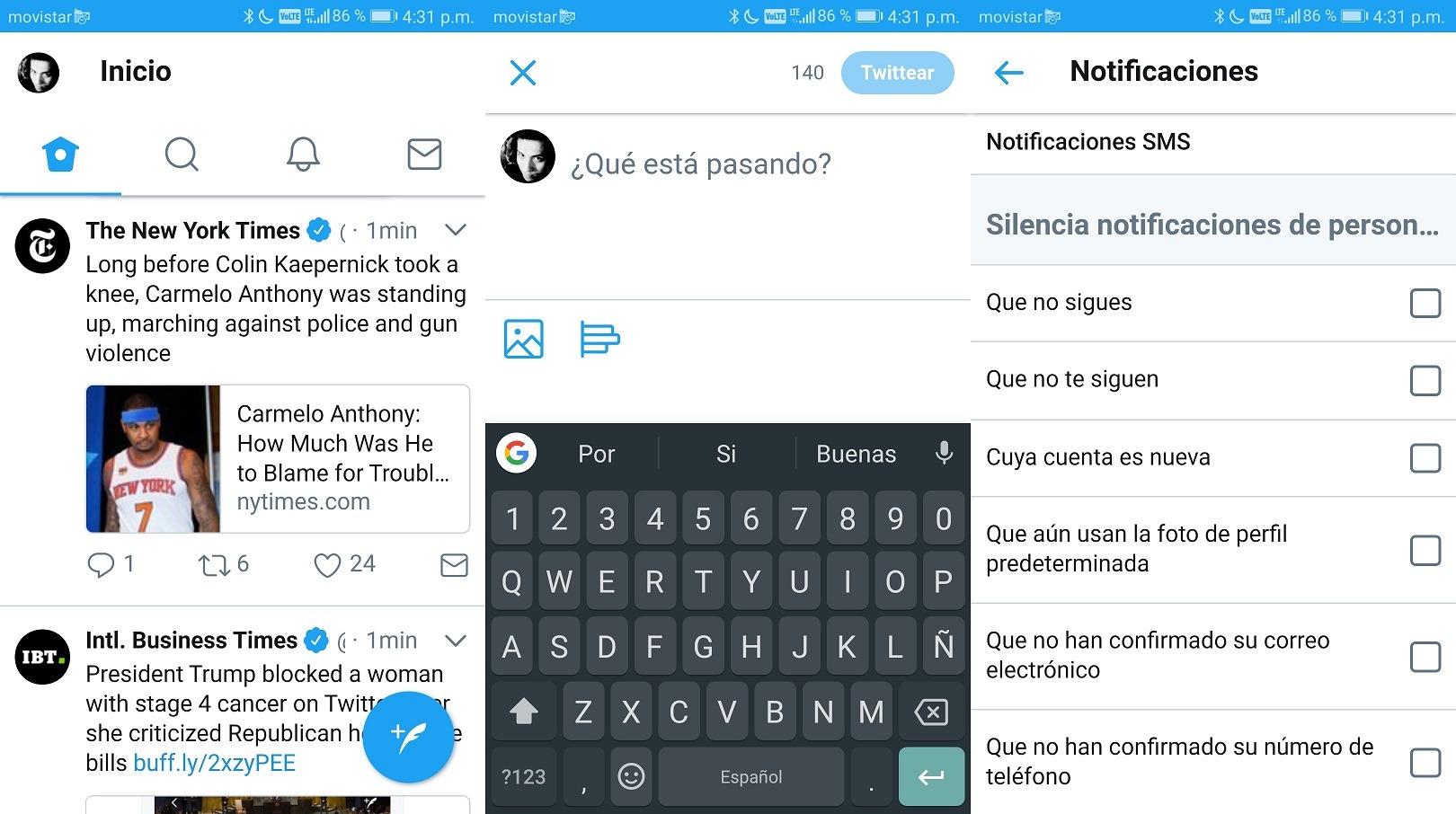 Twitter Lite es la nueva versión ligera de la app de Twitter para Android 1