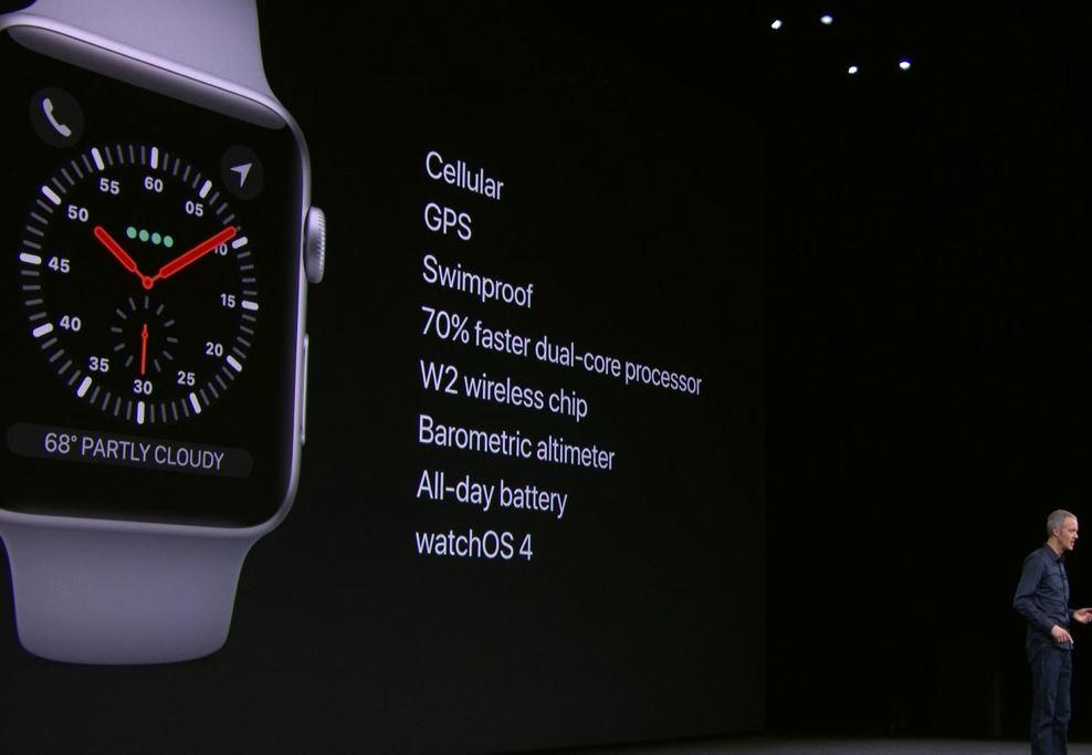 Apple Watch Series 3 Funciones