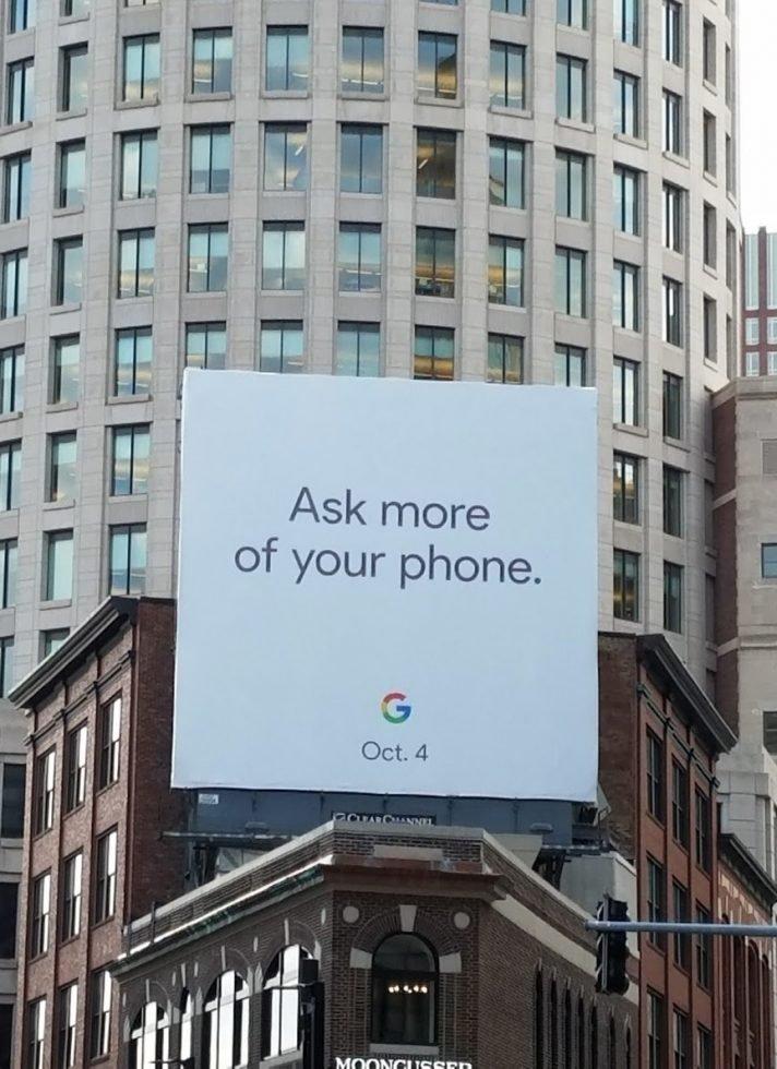 Google Pixel 2 4 de Octubre