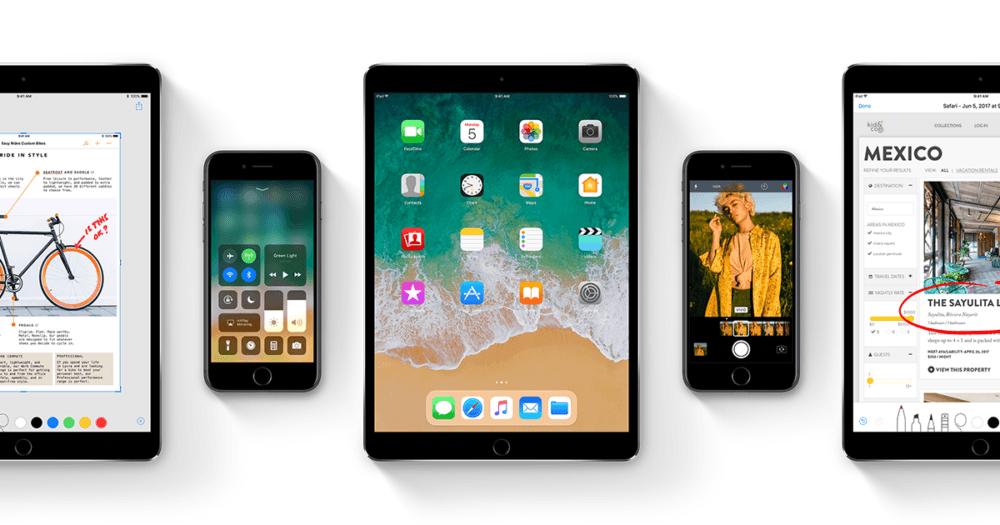 Disponible iOS 11.0.2 para todos los usuarios de iPhone, iPad e iPod Touch compatibles 1