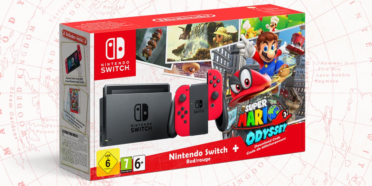 mario pack switch