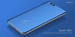 Xiaomi Mi Note 3 presentado, estas son sus especificaciones y precio 7