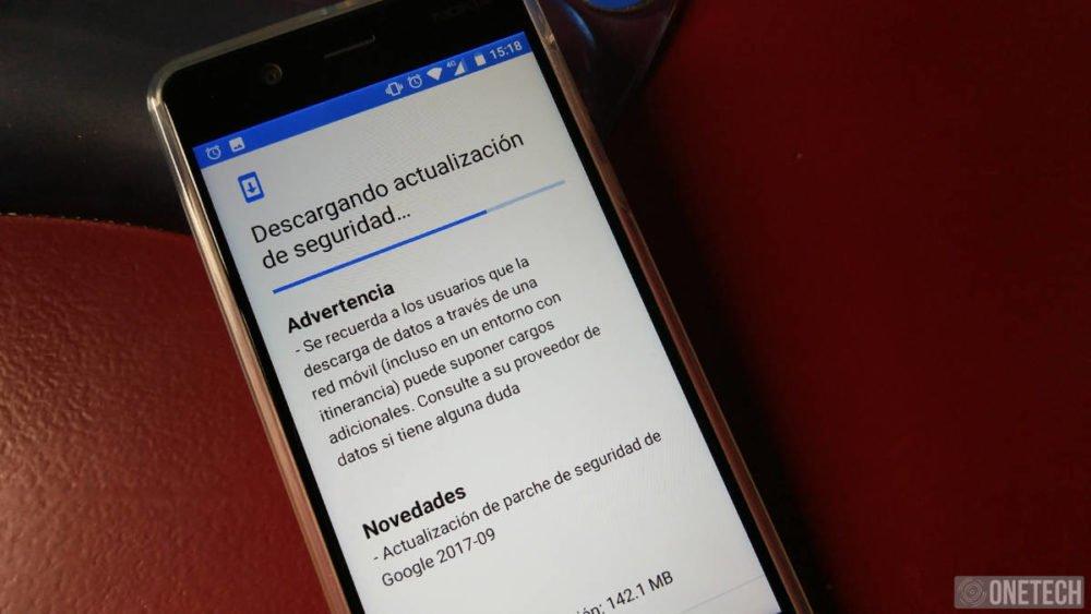 El Nokia 5 se actualiza con el parche de seguridad de septiembre