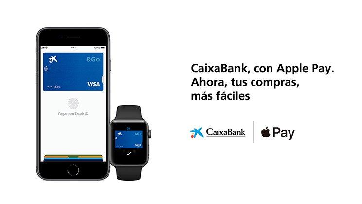 Ya puedes utilizar tu tarjeta CaixaBank con Apple Pay