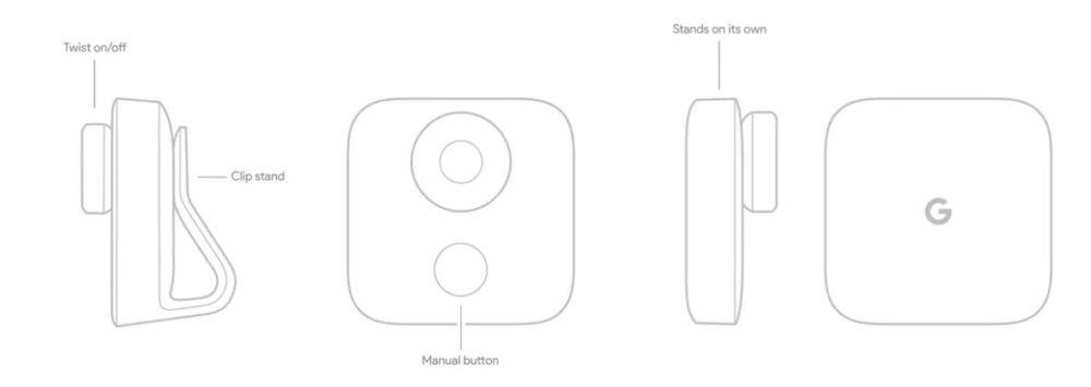 Concepto de Google Clips