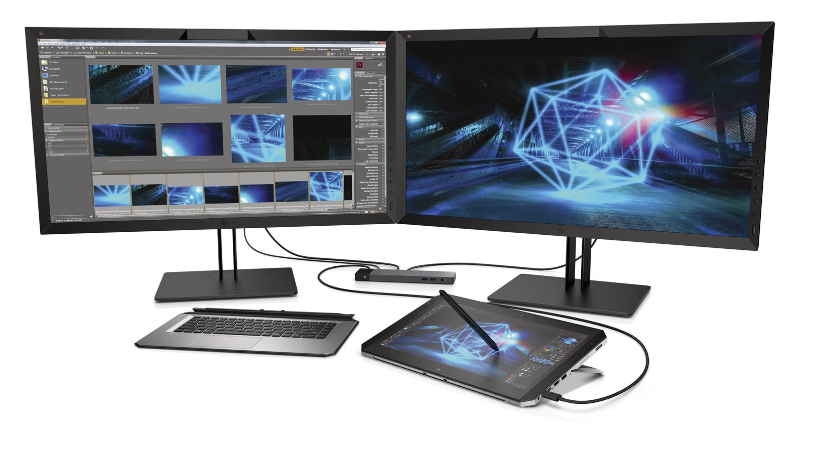 HP ZBook x2 conectado con otros dispositivos