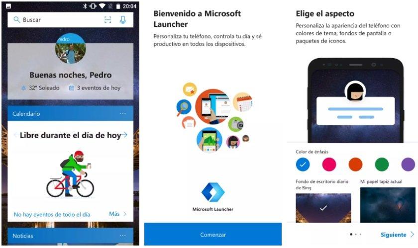 El renovado Microsoft Launcher ya disponible para Android 2
