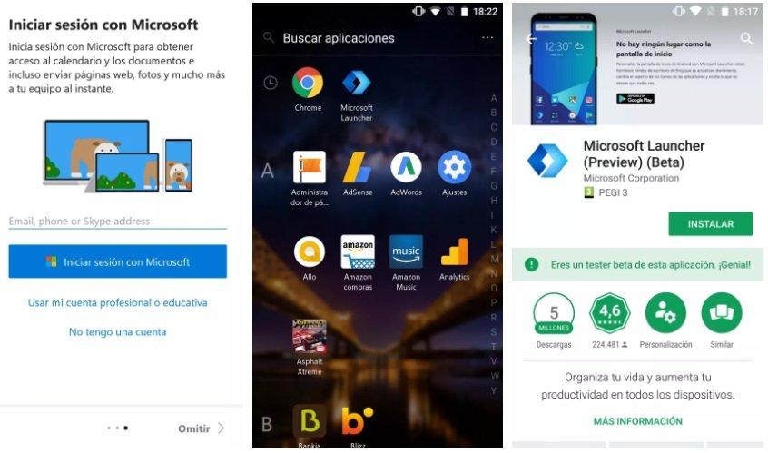 El renovado Microsoft Launcher ya disponible para Android 1