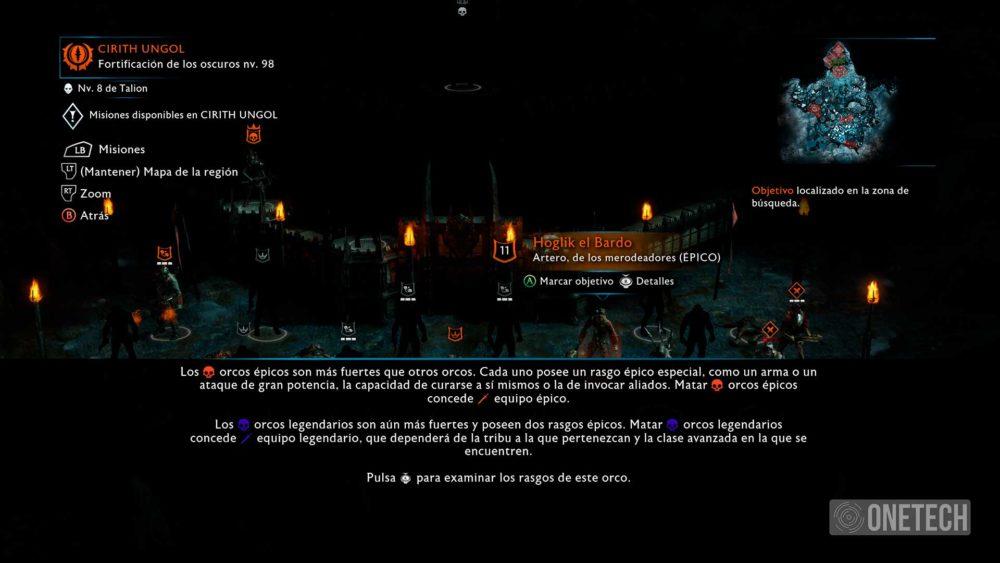 La Tierra Media: Sombras de Guerra, analizamos este increíble juego 30