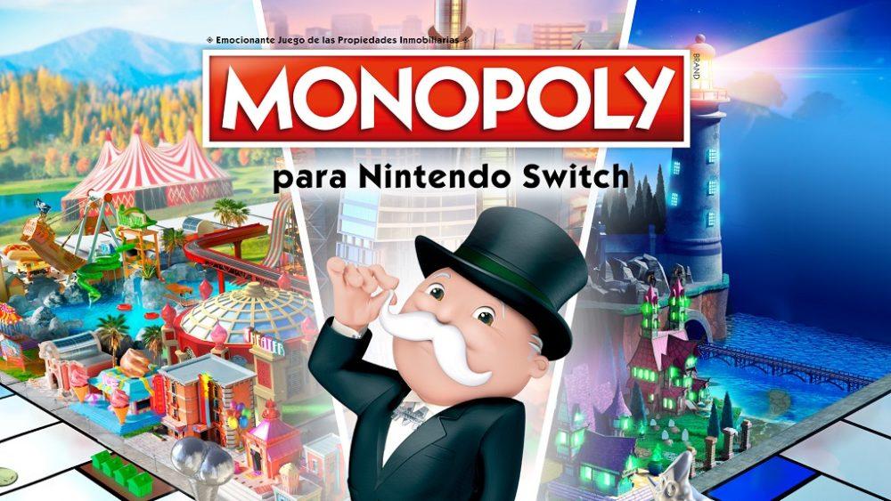 Monopoly llegará pronto a la Nintendo Switch