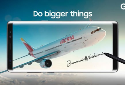 Samsung Galaxy Note ya vuelve a ser bienvenido a bordo en Iberia