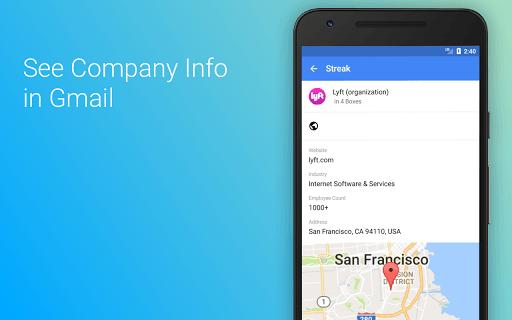 Streak Complementos Gmail