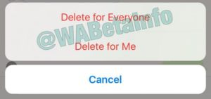 WhatsApp comienza ha habilitar la eliminación de mensajes y te da 7 minutos de margen 3
