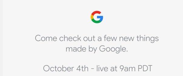 Como ver en directo el evento de presentación de los Google Pixel 2