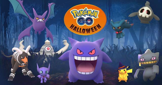 Pokémon GO se pone el disfraz con el evento de Halloween 1