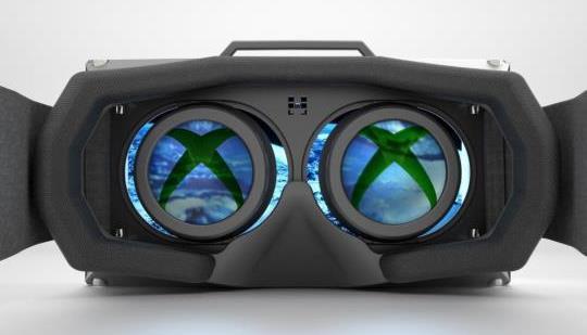 Gafas VR en Xbox (imagen no real)