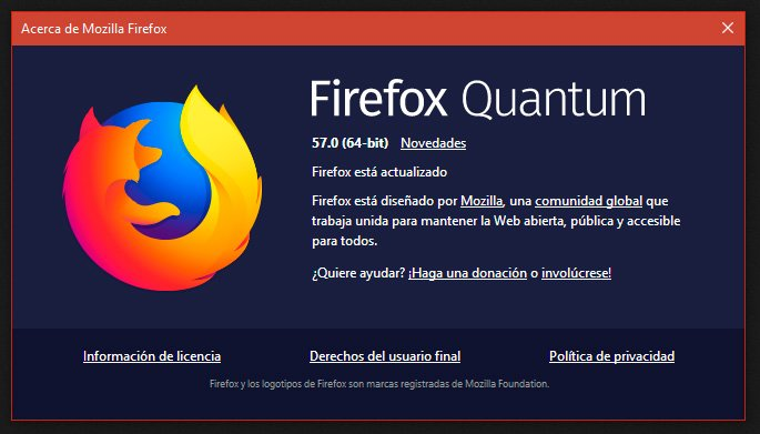 Firefox Quantum (Firefox 57)