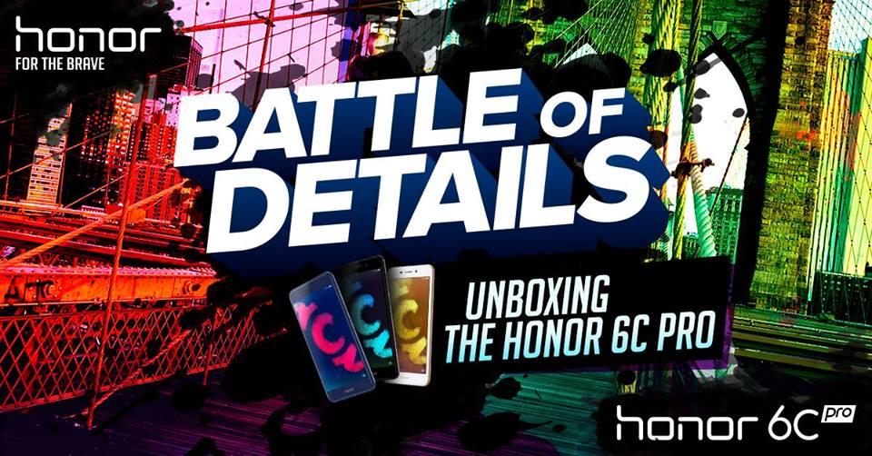 Honor 6 C Pro sigue su lanzamiento virtual el 9 de Noviembre en directo