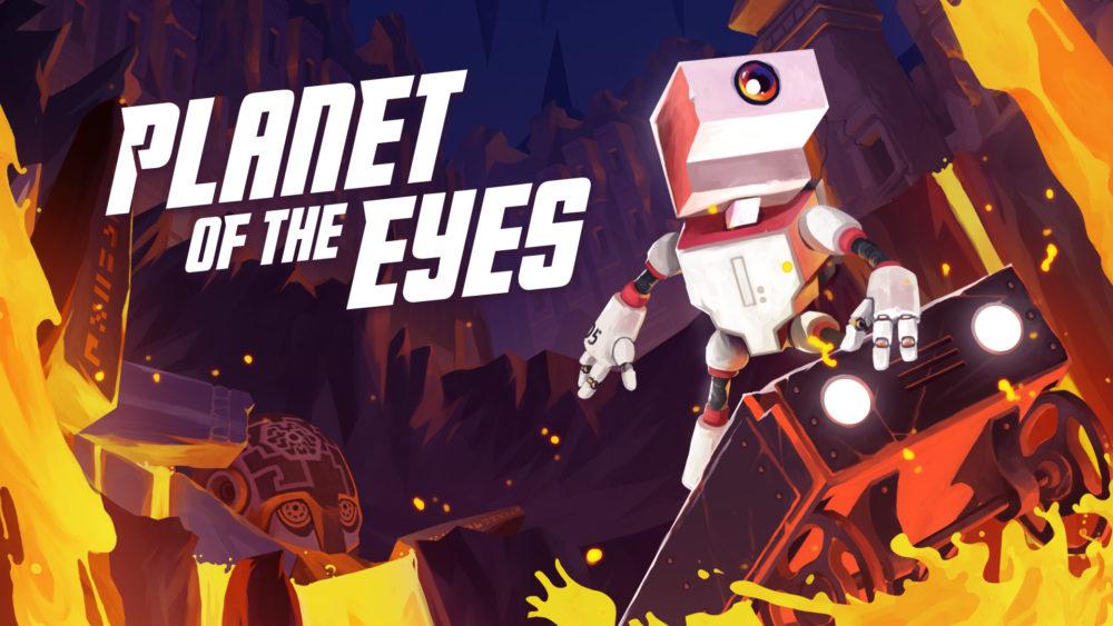 Planet of the Eyes, analizamos a este pequeño Robot 1