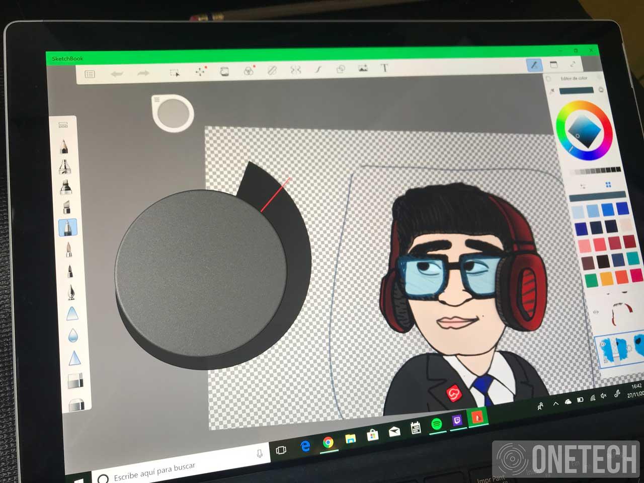 Analizamos el Surface Dial, la herramienta perfecta para los creativos 14