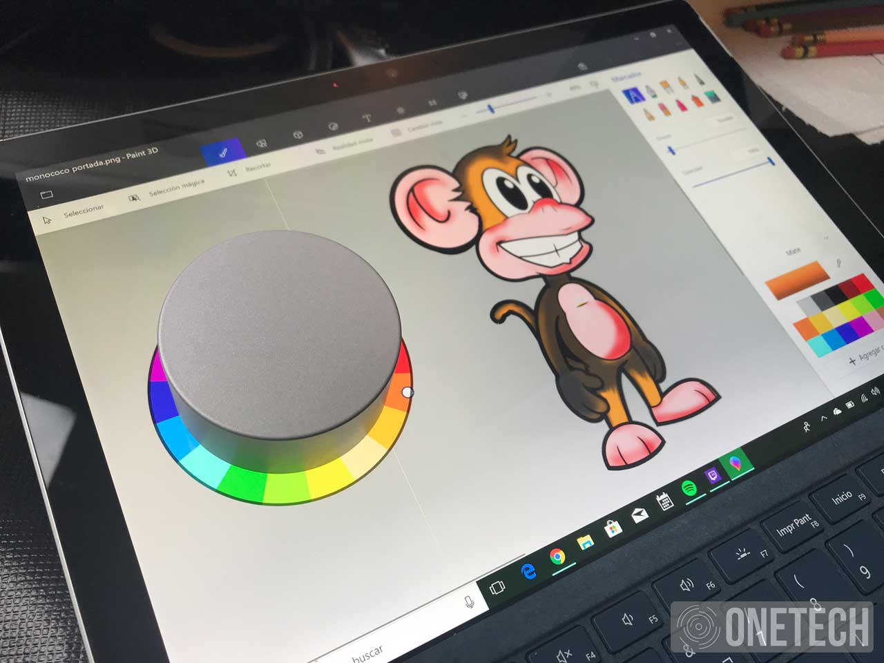 Analizamos el Surface Dial, la herramienta perfecta para los creativos 4