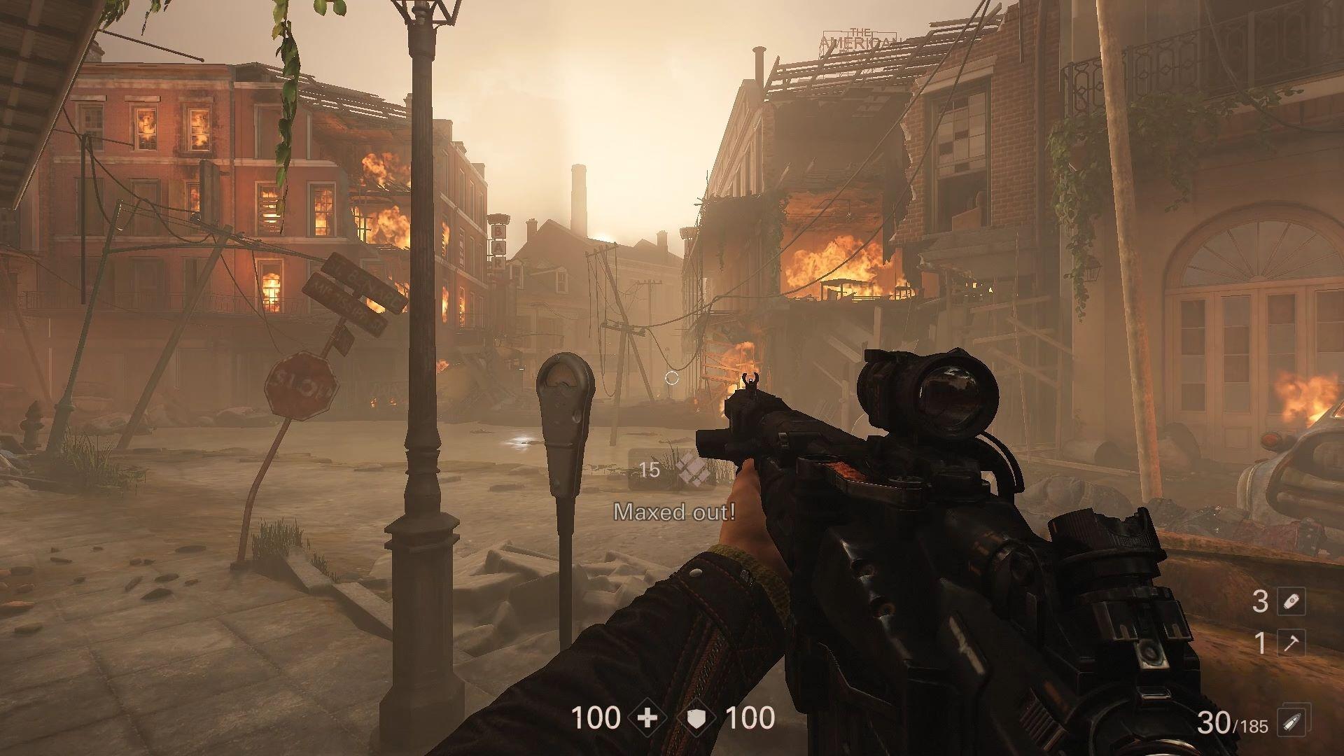 Wolfenstein 2 City