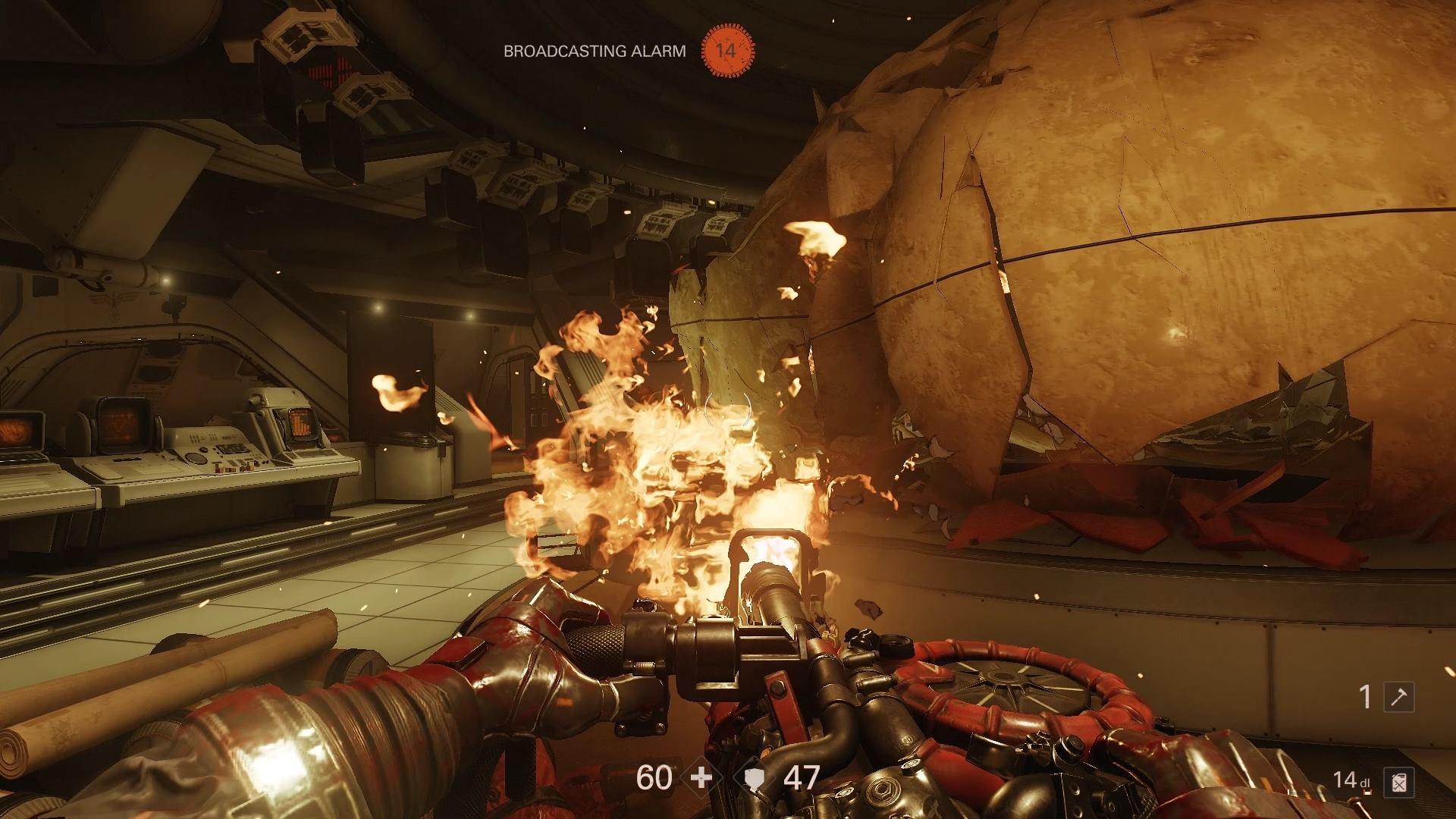 Wolfenstein 2 Flamethrower