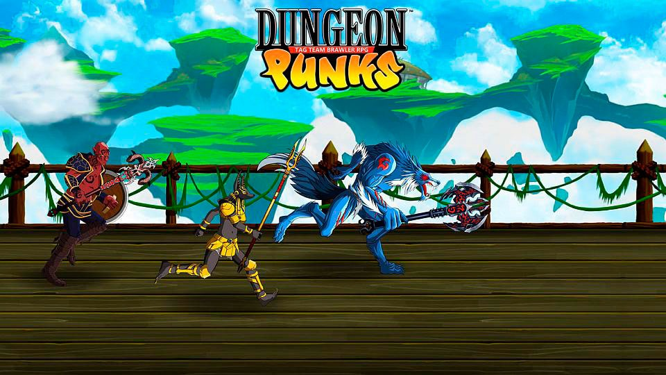 Dungeon Punks para PS VITA y PS4