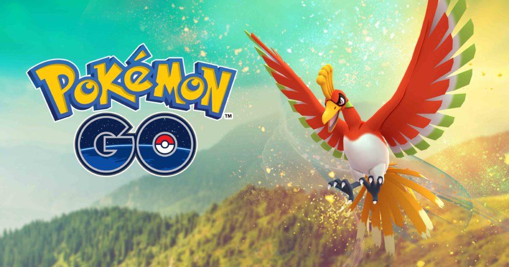 El Pokémon Legendario Ho-Oh aparece en Pokémon Go 1