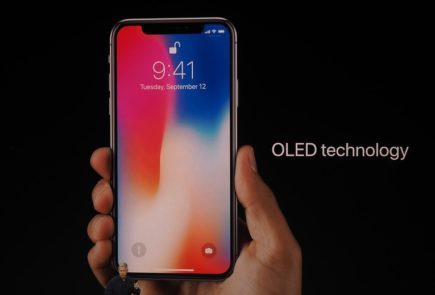iPhone X panel OLED