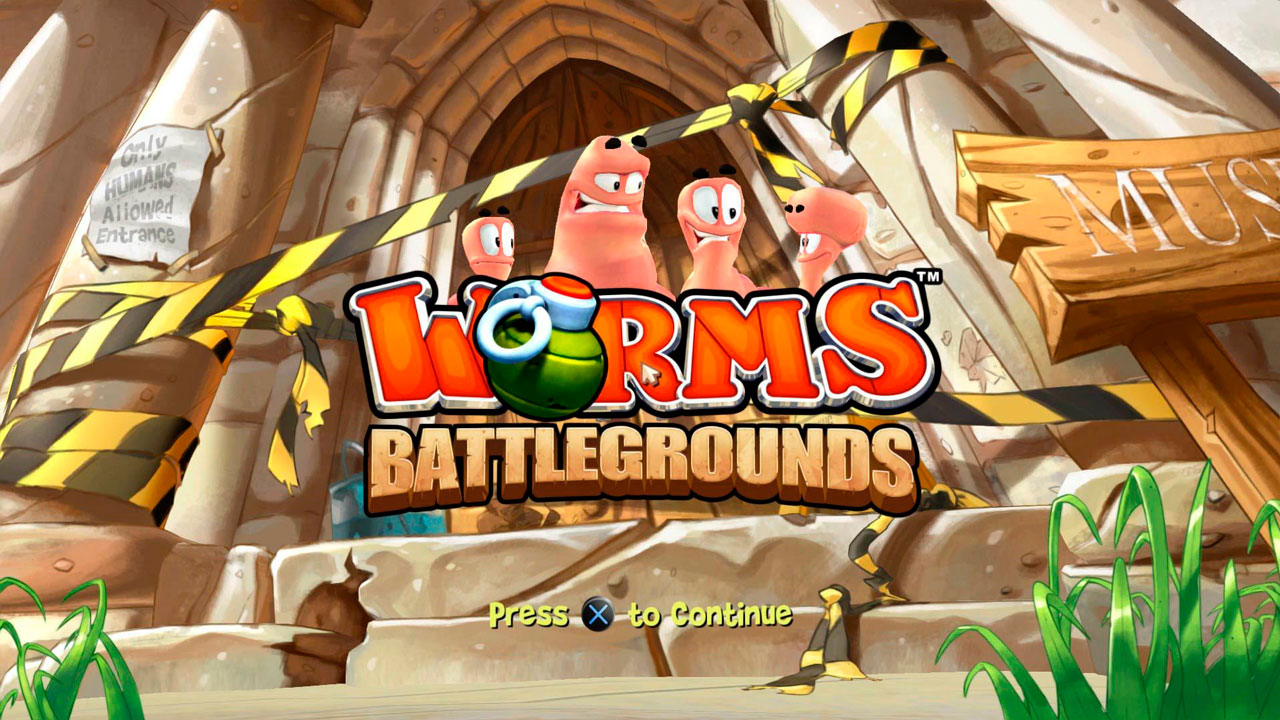 Worms Battlegrounds para PS4