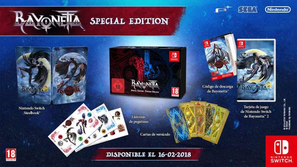 Bayonetta 2 Special Edition