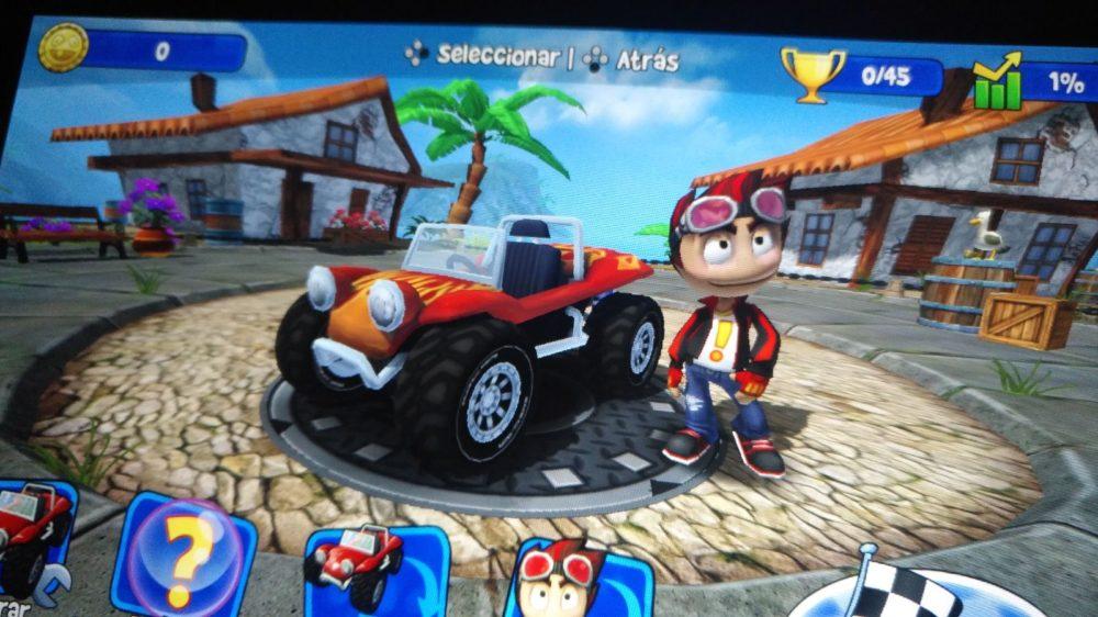 Análisis de Beach Buggy Racing para Nintendo Switch 5