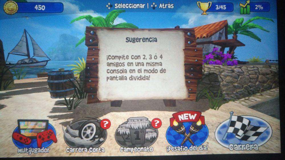 Análisis de Beach Buggy Racing para Nintendo Switch 7