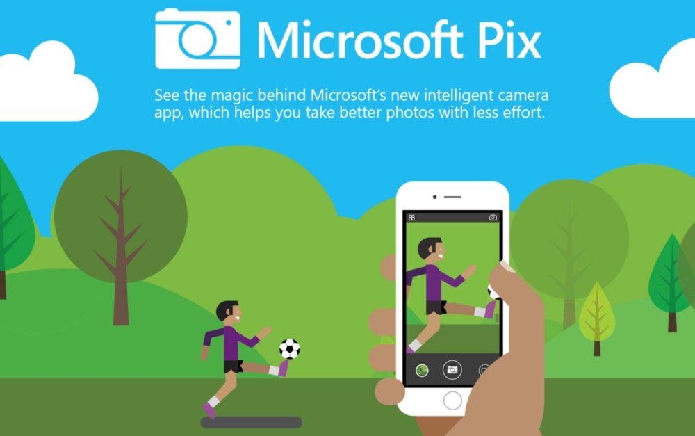 Photosynth retorna a iOS integrado en Microsoft Pix 1