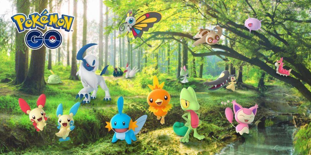 Pokémon GO ha sido actualizado con 50 nuevos Pokémon y más novedades 1