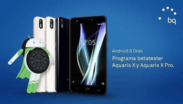 La beta de Android Oreo 8.0 ya disponible para los BQ Aquaris X y X Pro 1